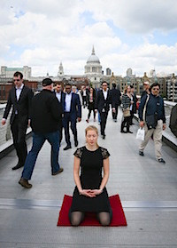 Meditation on the streets of London