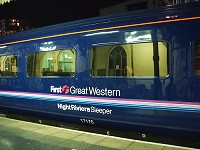Great Western Sleeper Train